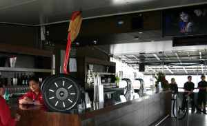 Ferrari Segway PT on display at the VIP Hospitality Bar - A1GP, Taupo