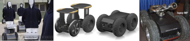 Examples of Segway Robotic Mobility Platforms