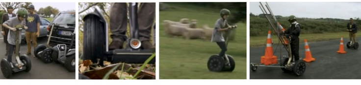 Next you zoom off and chase some sheep, and then you build your invention.