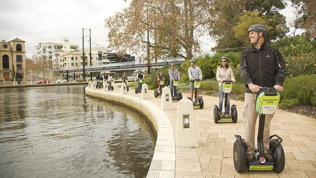 Segway Tours in Western Australia (Segway Safari at Currumbin Sanctuary).