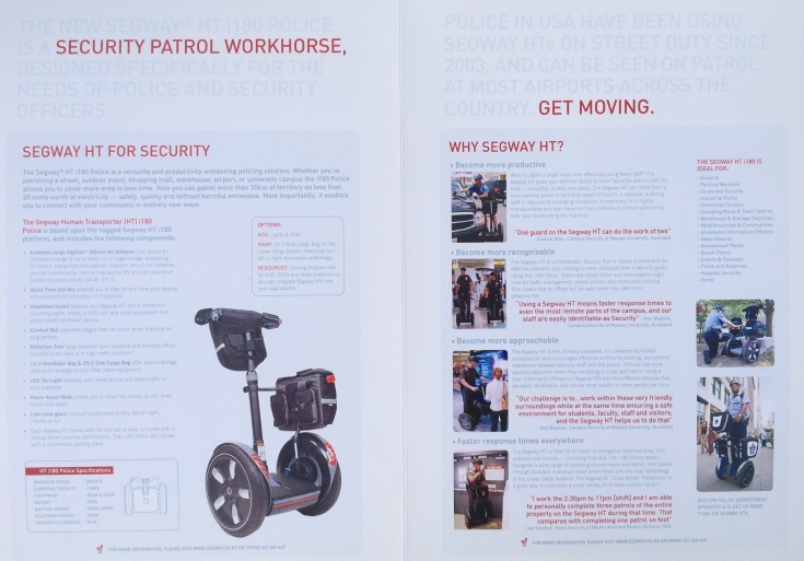 Our 2005/6 security and public safety sector brochure (page 2 and page 3)