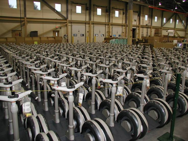 An army of Segway i167s