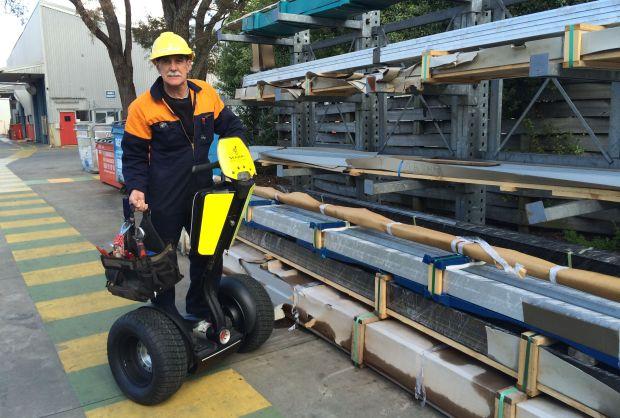 Dave at Fletcher Aluminium, Auckland