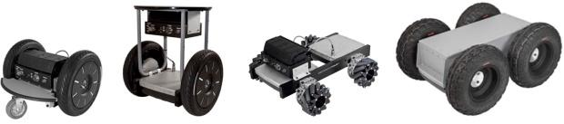 Segway Robotics Mobility Platforms (RMPs)