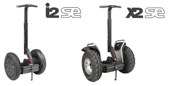 The new Segway i2 SE and x2 SE Personal Transporters