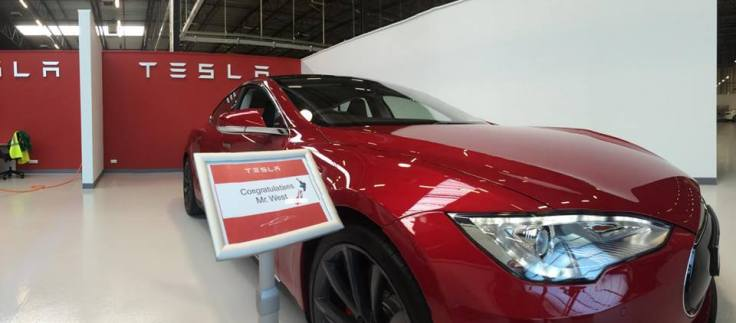 Tesla S launch NZ