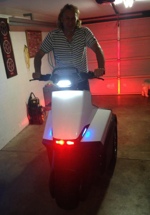 Philip Bendall on the Segway SE-3 Patroller (Queensland, Australia)
