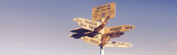 This year we took Segway PTs to Bluff - the very bottom of the South Island