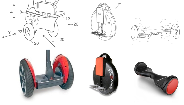 Segway Personal Transporter vs Solowheel and Hovertrax