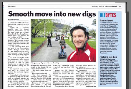 Segway New Zealand News \u2013 Page 8