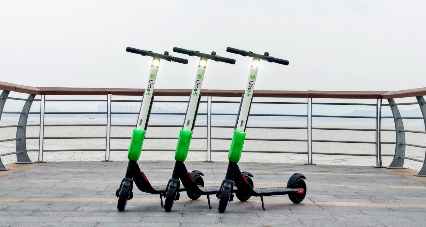 Lime brings (Segway) dock-less 'Sharing Scooters' to