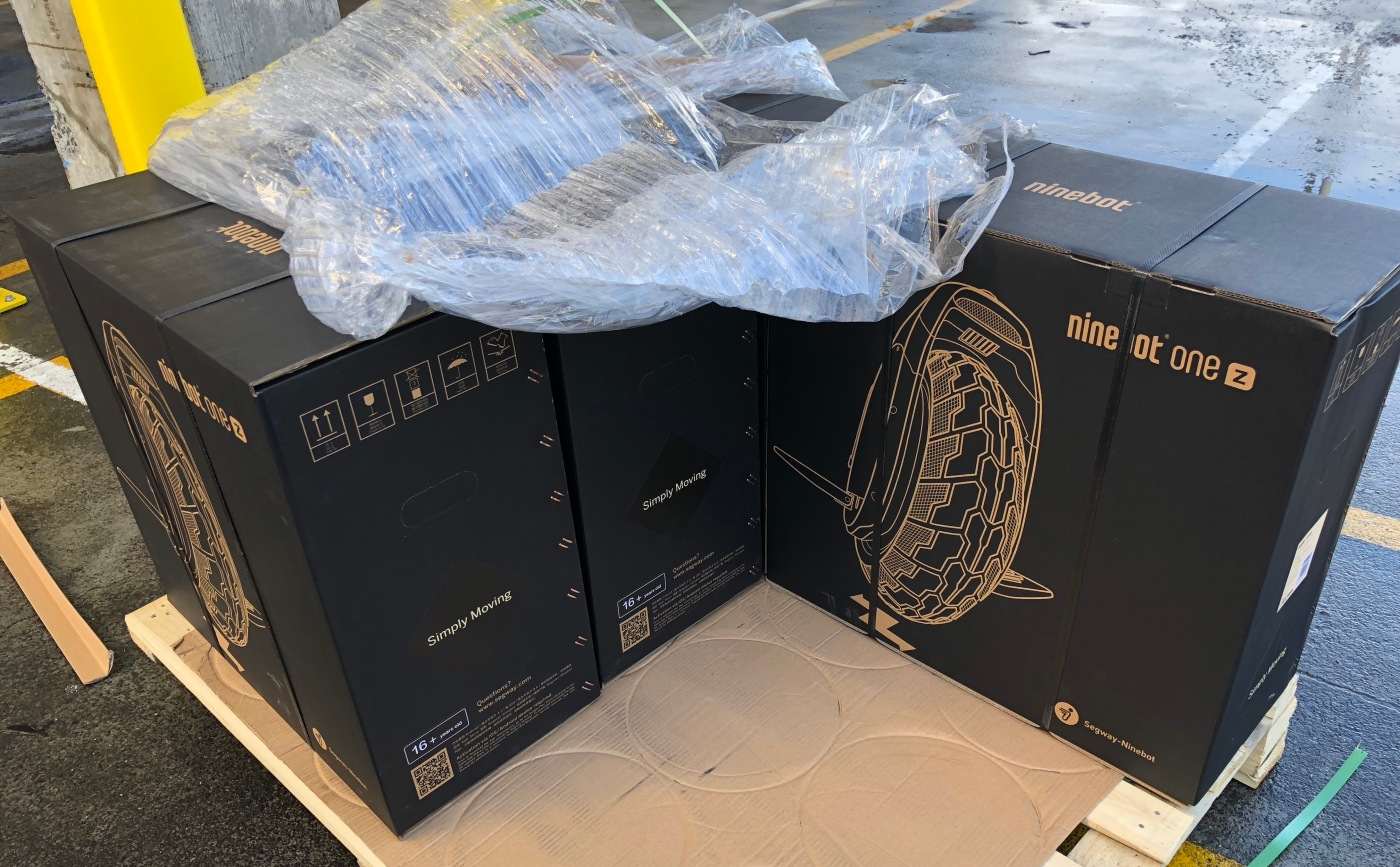 First Segway Ninebot ONE Z10's arrive in New Zealand