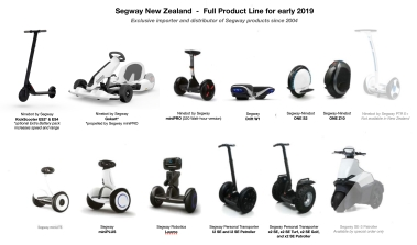 ES4 KickScooter joins Ninebot by Segway ES2 for 2019