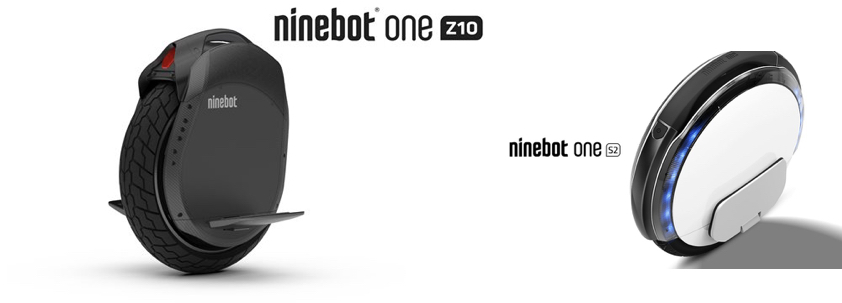 Ninebot ONE Z10 and ONE S2 – in stock (but they're not for